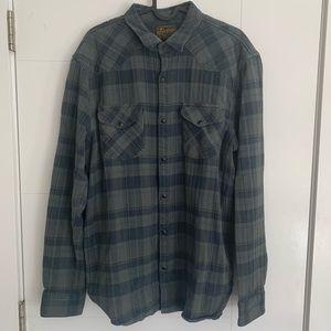 LUCKY BRAND🍀   Plaid shirt